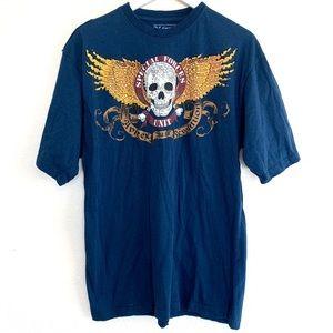 Avirex Skull Wings Revolution Graphic T-shirt